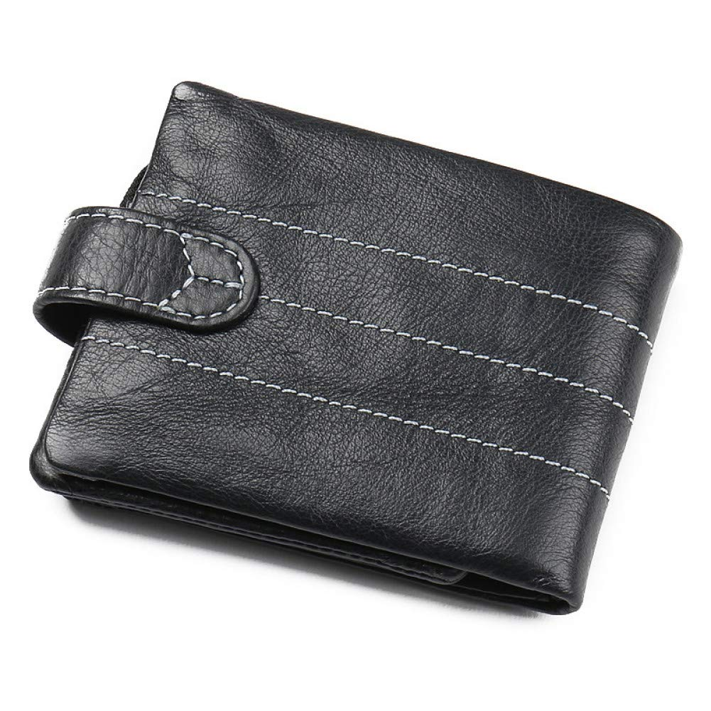 KHGUDS Men Unique Key Holder Genuine Leather Zipper Key Small Case Pouch Bag Men Key Wallets Vintage Business Men