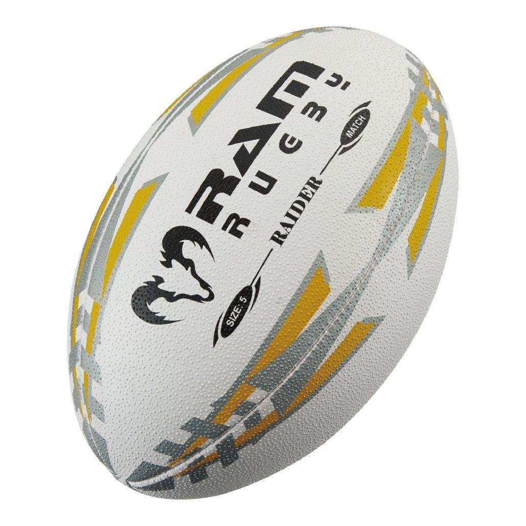 Ram Raider de balón de Rugby, amarillo: Amazon.es: Deportes y aire ...