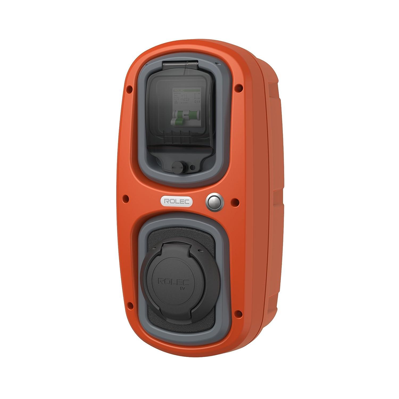 Affordable Presa tipo 2 da 32/Amp a colori EV OneStop Simple Easy EV Caricabatterie da WallPod per auto o veicoli elettrici