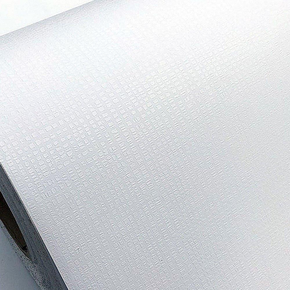 壁紙シール はがせる 【壁紙シール50mセット】 壁紙 白 のり付き シール クロス補修 おしゃれ [air-834:ホワイト] 幅50cm×長さ50m単位 無地 アクセントクロス ウォールステッカー はがせる DIY 壁紙 シール 木目 リメイクシート B072ZWDXGW お得な50mセット|air-834:ホワイト air-834:ホワイト お得な50mセット