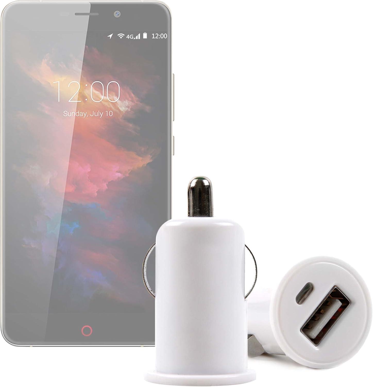 DURAGADGET Cargador De Mechero del Coche con Puerto USB para Smartphone UMI MAX | Touch | Super | Motorola Moto X Play | ZTE Axon Mini | Blackberry Priv: Amazon.es: Electrónica