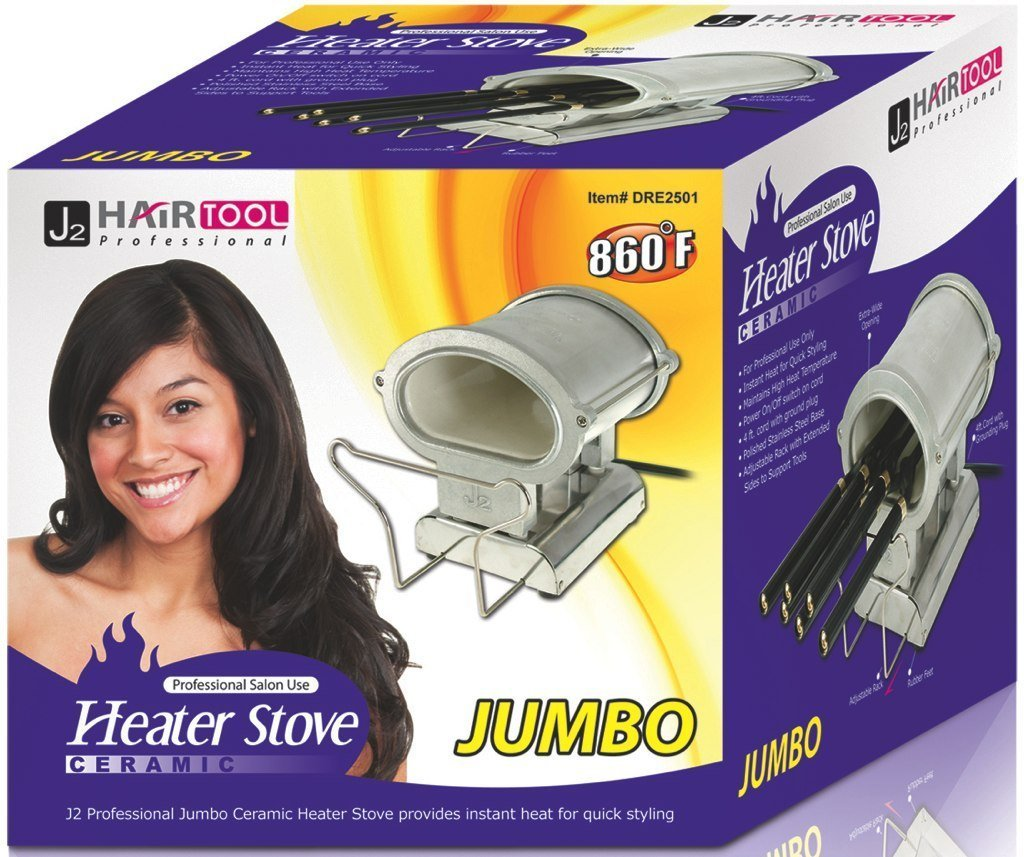 J2 Hair Tool Jumbo Ceramic Heater Stove