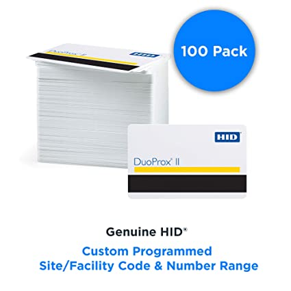 HID 1336LGGMN DuoProx II - Tarjeta de proximidad de PVC con ...