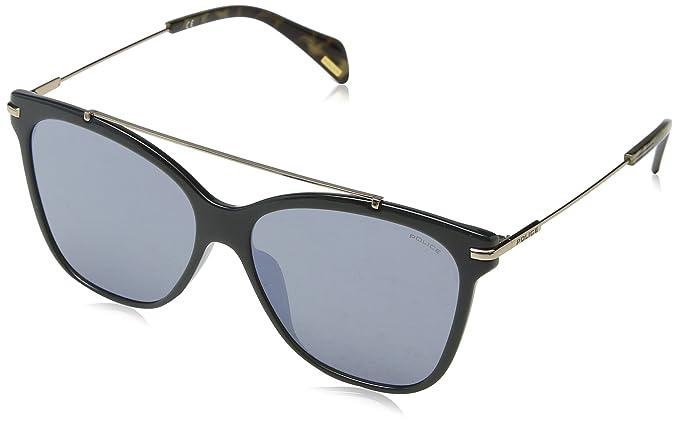 Police Goldeneye 1, Gafas de Sol para Mujer, Gris (Shiny Opal Gray)