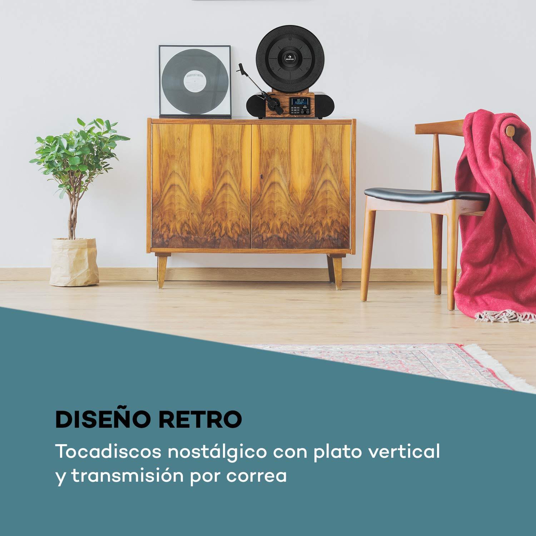 AUNA Verticalo SE Dab Plataforma giratoria Retro: Amazon.es ...