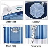 MIKIKI Mini Washing Machine for Compact