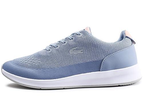 a387912ba Lacoste Woman Chaumont Sneaker Blue  Amazon.co.uk  Shoes   Bags