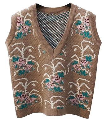 Msw Womens Sleeveless V Neck Pullover Sweater Vest Tank Tops