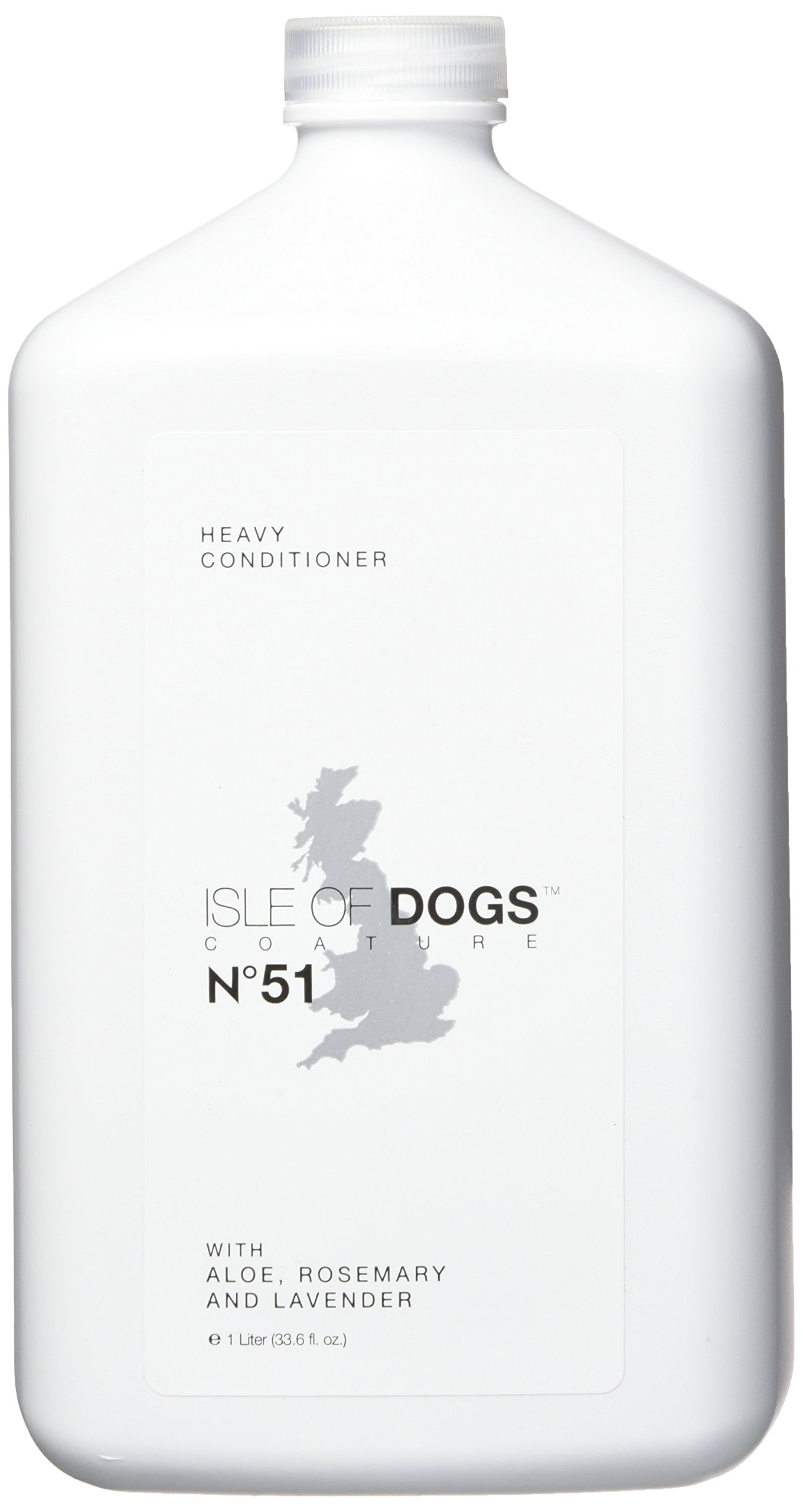 Isle of Dogs Coature No. 51 Heavy Management Dog Conditioner for damaged hair, 1 liter by Isle of Dogs