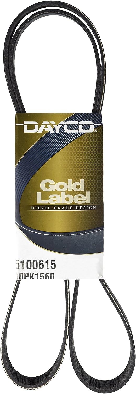 Dayco 5100615 Serpentine Belt