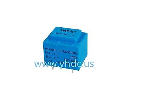 yhdc pe2409-i Potencia 0.5 va entrada 220 V salida 15 V PCB soldadura seguridad