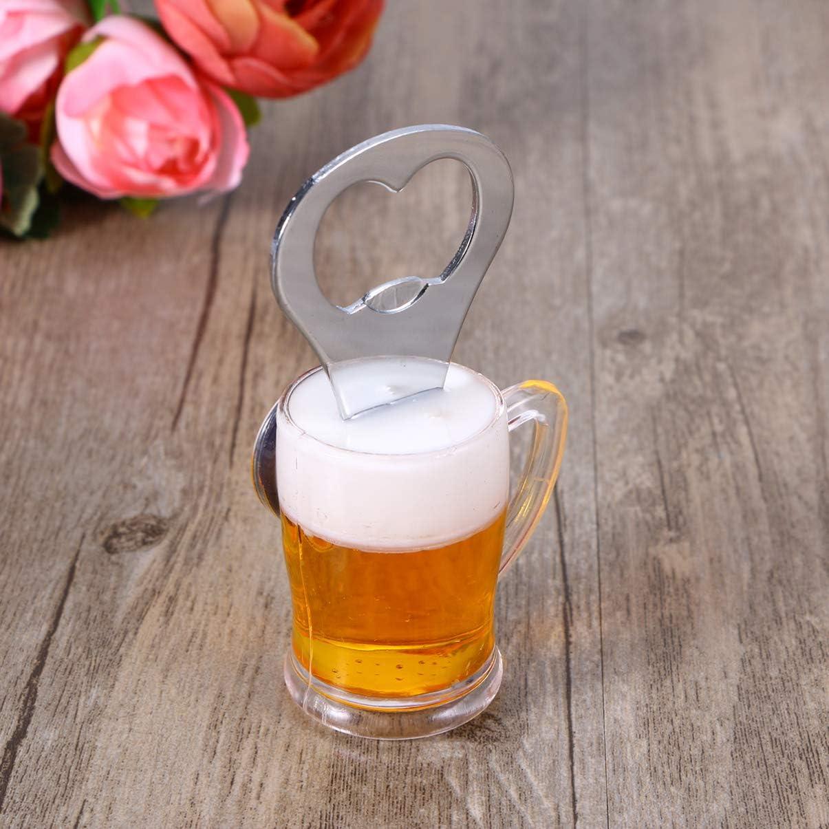 Apribottiglie magnetico da frigorifero per birra e vino TOPBATHY