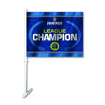 d3d5c6d7ce6 Amazon.com   Fremont Die NFL Fantasy Football Car Flag