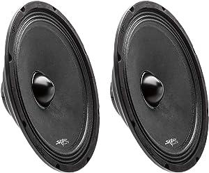 "(2) Skar Audio Npx10-4 10"" 400 Watt 4-Ohm Neodymium Pro Audio MID-Range Loudspeaker - 2 Speakers"