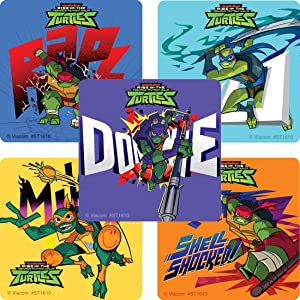 SmileMakers Rise of The TMNT Shell Shock Sticker - Prizes 100 per Pack