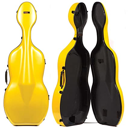 Amazon.com: Galaxy Quasar 600SL Yellow Cello Case with Gray ...
