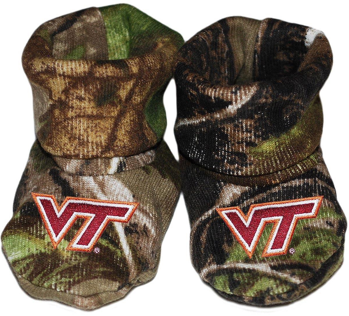 Virginia Tech VT Hokies Newborn Baby Bootie Sock