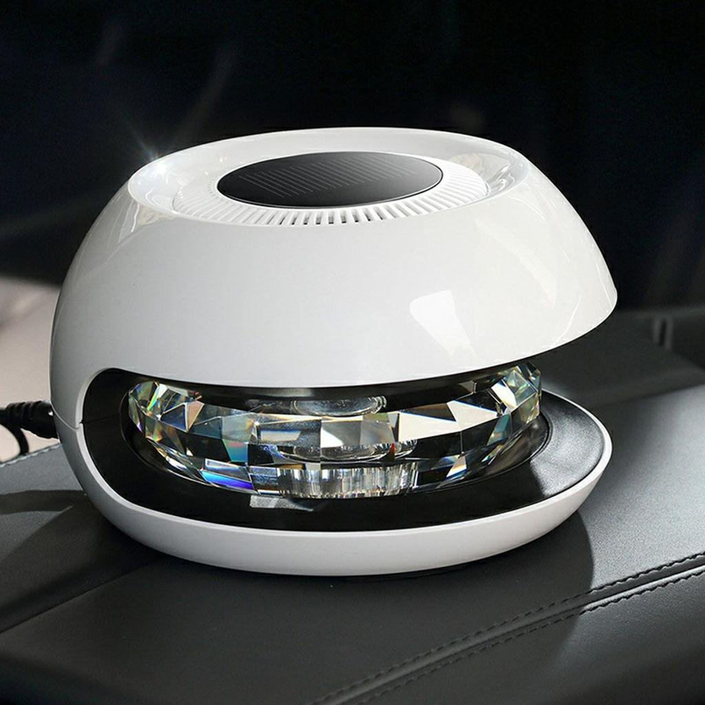 GOUGOU Car air purifier Solar usb intelligent humidifier Automotive solar air purifier