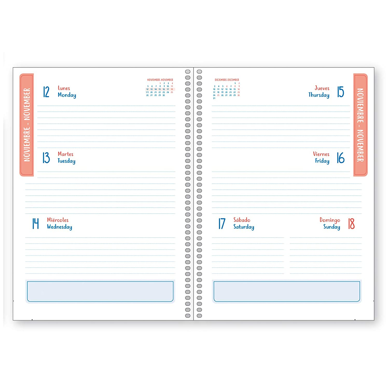 Cuaderno A5 Pastel Rosa Dohe