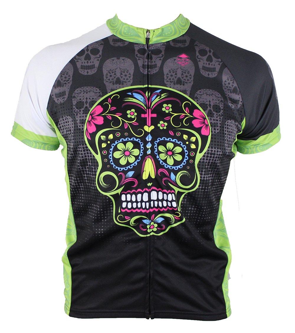 Dia De Los Muertos Cycling Jersey My Sugar Skulls