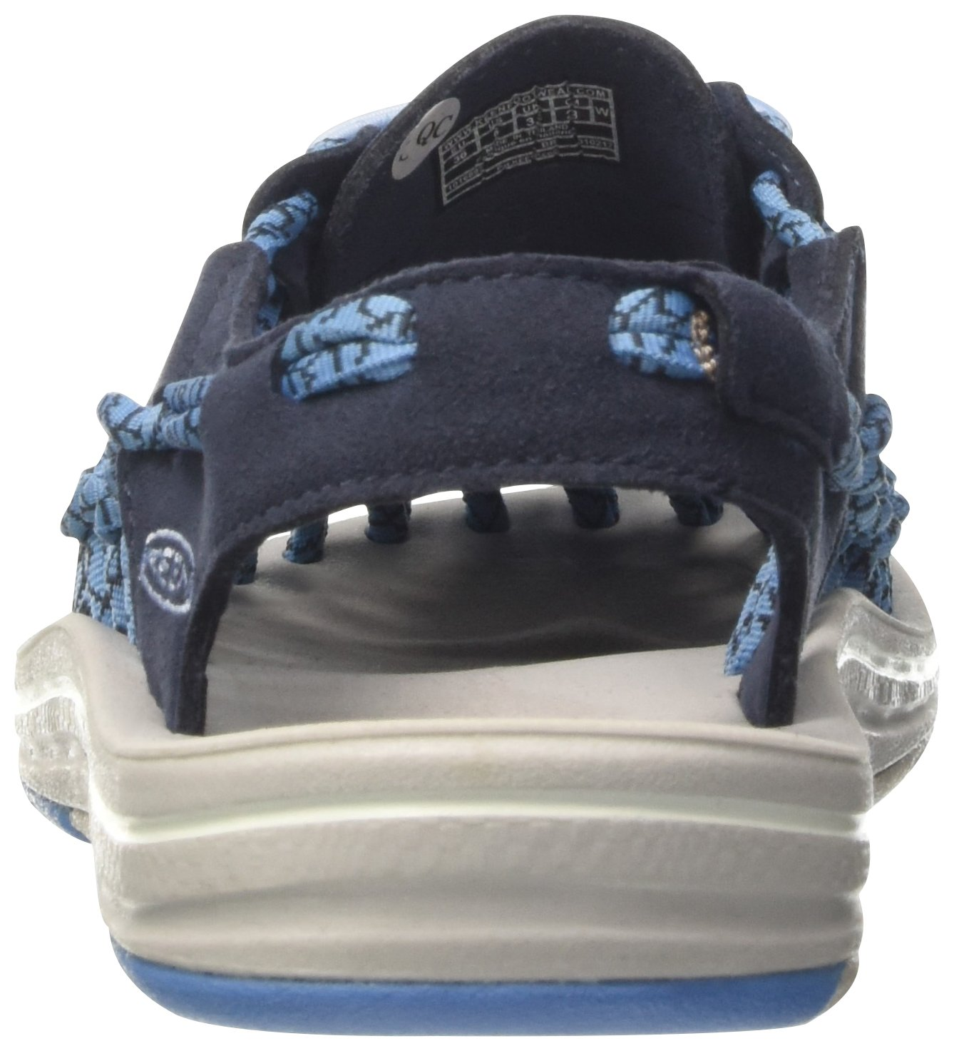 KEEN Women's Uneek-W Sandal B01H8H3VS0 11 B(M) US|Midnight Navy/Cendre Blue
