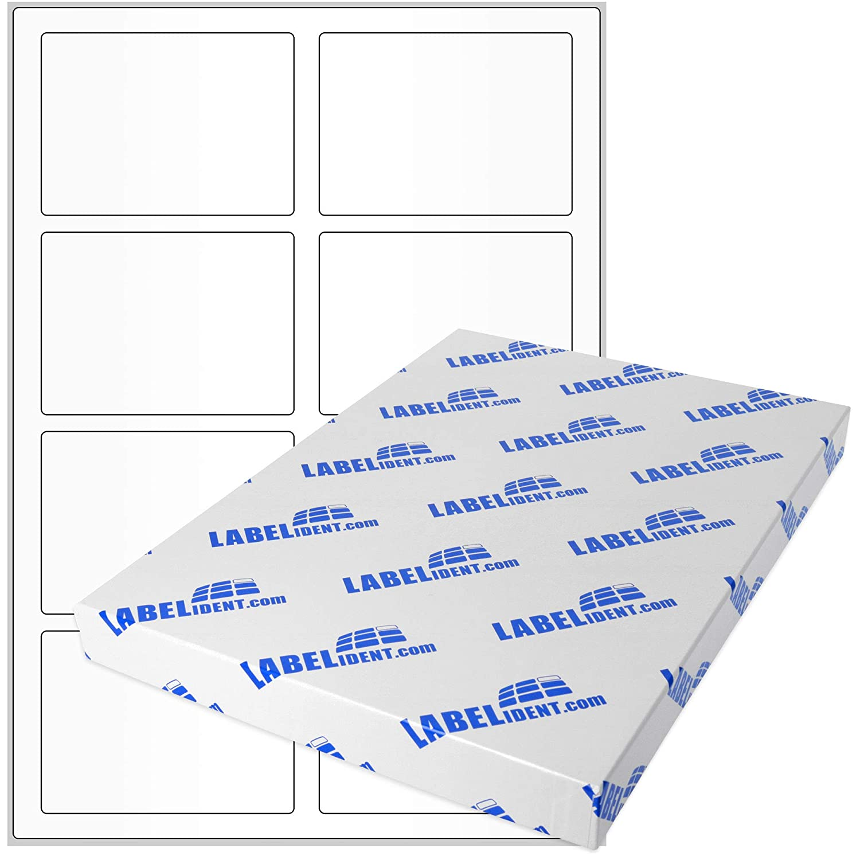 Labelident Labelident Labelident Etiketten - 90 x 65 mm, rechteckig - Gewebe (Nylon) gelb, matt, permanent haftend, 80 Aufkleber, DIN A4 Bogen, 10 Blatt B07BDMB3MZ    | Neuheit  360a11