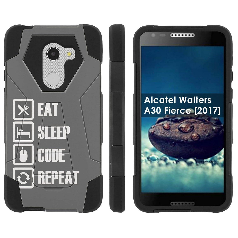Amazon com: [Case86] Proton Dual Layer Phone Case for Alcatel REVVL