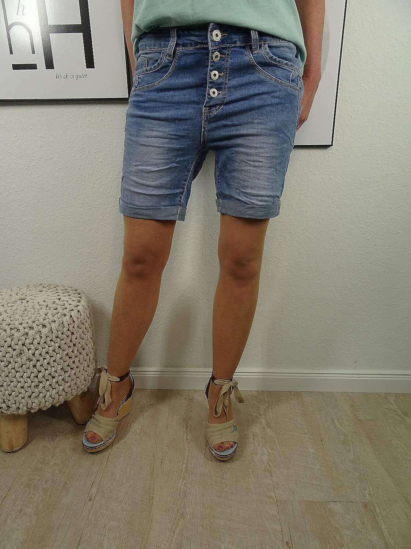 Con Tira De Botones Decorativa Pantalones Vaqueros Vaqueros Clasicos Para Mujer Jewelly By Lexxury Ajuste Perfecto Con Elastico Ropa Mujer