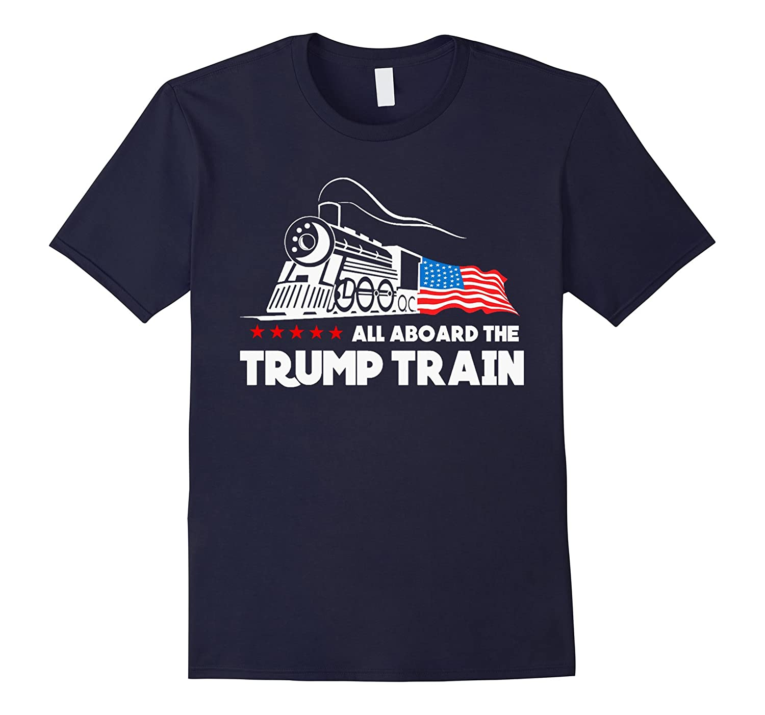 All aboard the trump train 2016 T-Shirt-TD
