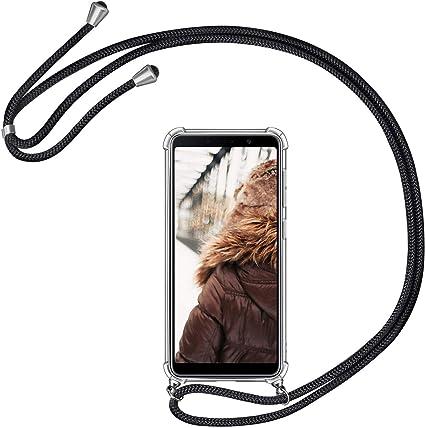 MXKOCO Carcasa de movil con Cuerda para Colgar Samsung Galaxy A9 ...