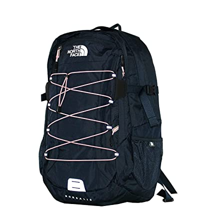 b19a99c8a31 Amazon.com: The North Face Women Classic Borealis Backpack Student School  Bag (Urban Navy Pink): Computers & Accessories