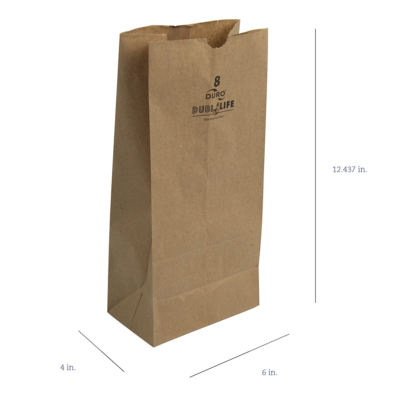 Amazon.com: Duro 18408 SOS Bolsa 35# 100% Reciclado Natural ...