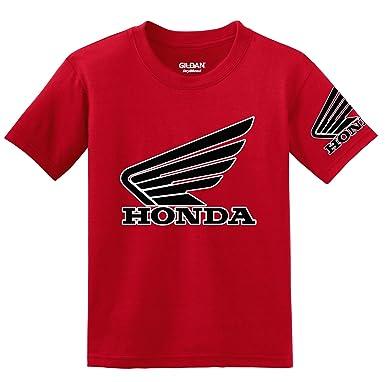 Amazon Honda Goldwing Logo With Sleeve T Shirt Clothing