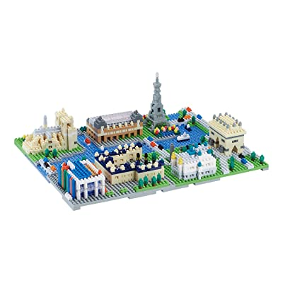 NanoBlock Paris NB-047: Toys & Games