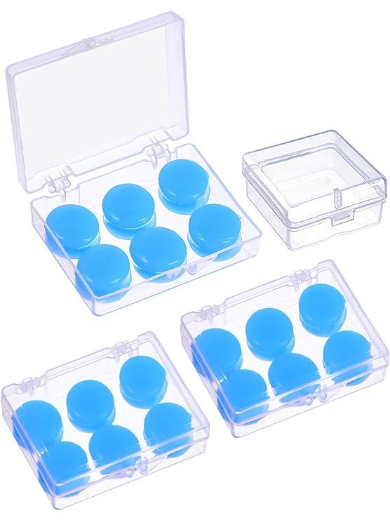 9 Paar Weiche Schutz Ohrstöpsel Silikon Kitt Ohrstöpsel Formbare Ohrstöpsel Set Zum Schlafen, Schwimmen