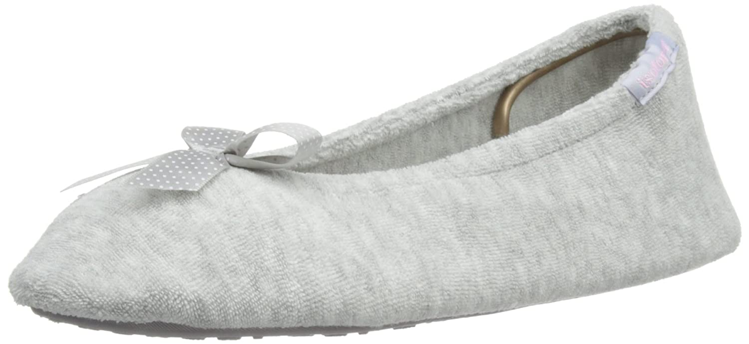 Isotoner Stretch Terry, chaussons femme Isotoner Stretch Terry