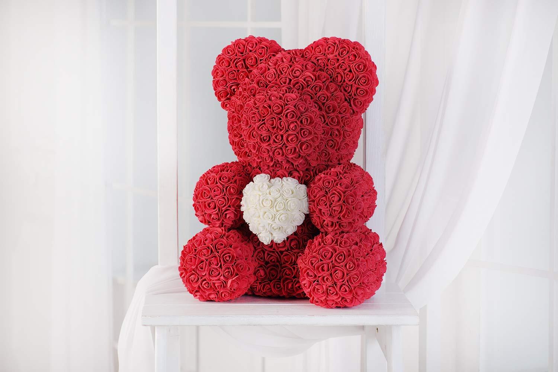 Rose bear gift present