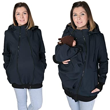 e2c8e119bbfa5 3in1 ALL WEATHER Softshell Babywearing jacket maternity coat BABY CARRIER  NP16 (S - US6)