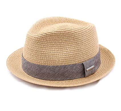 41740032fa135c Stetson Trilby Toyo Trilby Hat Packable at Amazon Men's Clothing store: