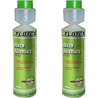 Flotex Benzine-loodvervanging, 2 x 250 ml additief voor oudere benzinemotoren tegen vermogensverlies en motorschade