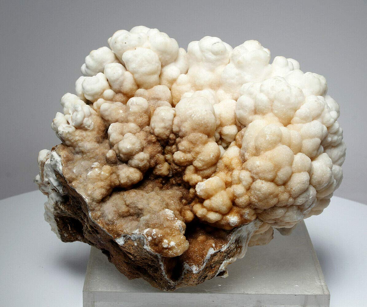 Beautiful Bubbly Aragonite Calcite from Mibladen, Morocco (5819)