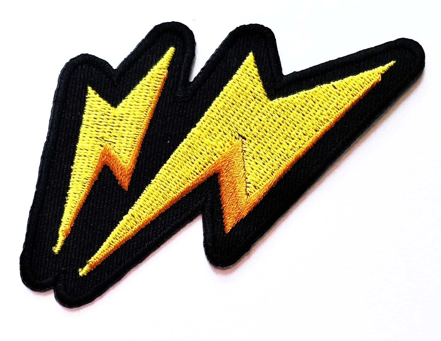 Nipitshop Patches Yellow Twin Thunderbolt Lighting