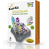 Kool-Ed -Maze Escape the best Gravity Maze Marble Run Brain Teaser Puzzle. STEM Educational Games Gives Hours of Fun…