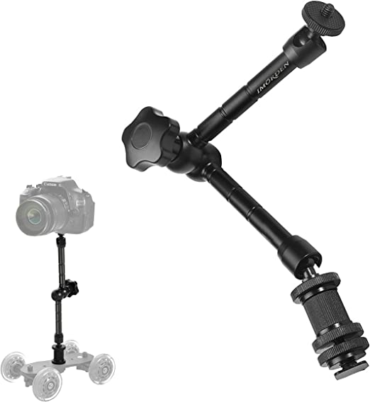 S-095 3 Sections Adjustable Magic Arm Articulated Camera Extension Bracket DR