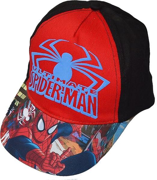 Marvel Spiderman Spider-man - Cappello Cappelli Berretto ragazzo 52 cm   Amazon.it  Abbigliamento 60a181fcd36f