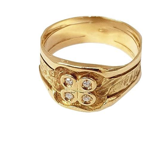 anelli uomo in oro