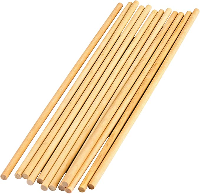 1//8 Wood Dowels STEM Basics 100 Count