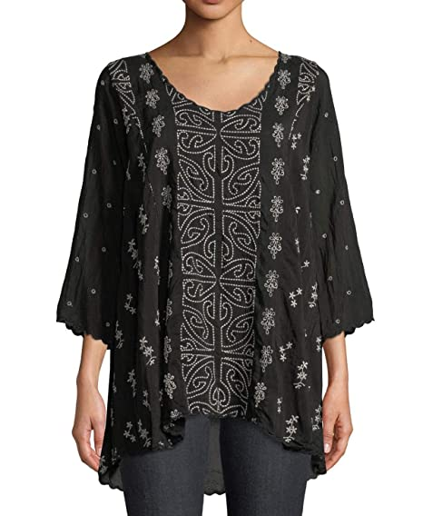 Johnny Was Womens Ridden Blouse At Amazon Women S Clothing Store