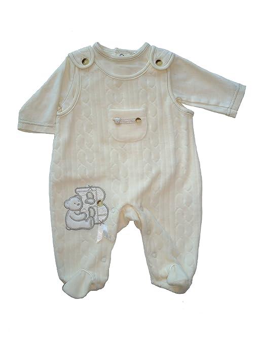 Con cierre de cremallera Zap luxury Collection de terciopelo de Pelele para bebé