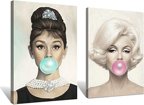 Denozer Beauty Portrait Canvas Wall Art